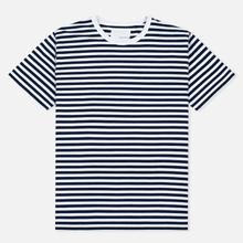 Мужская футболка Nanamica Coolmax St. Jersey Navy/White фото- 0