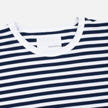Мужская футболка Nanamica Coolmax St. Jersey Navy/White фото- 2