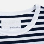 Мужская футболка Nanamica Coolmax St. Jersey Navy/White фото- 1