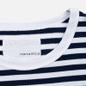Мужская футболка Nanamica Coolmax St. Jersey Navy/White фото - 1