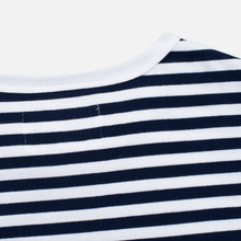 Мужская футболка Nanamica Coolmax St. Jersey Navy/White фото- 3