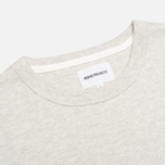 Мужская футболка Norse Projects James Moulinex Ecru Melange фото- 1