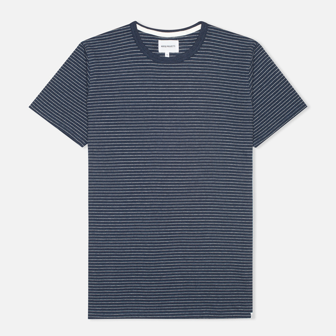 Мужская футболка Norse Projects Niels Interlock Navy