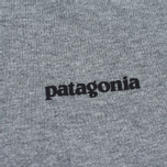 Мужская футболка Patagonia P-6 Logo Cotton Gravel Heather фото- 2