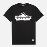 Мужская футболка Penfield Mountain Black фото- 0