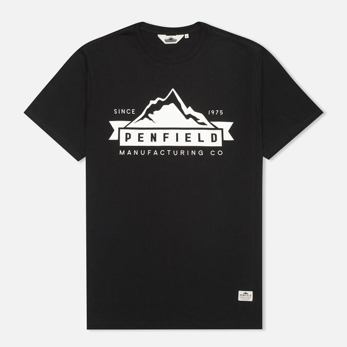 Мужская футболка Penfield Mountain Black