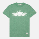 Penfield Mountain Men's T-shirt Green photo- 0