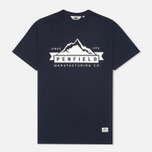 Мужская футболка Penfield Mountain Navy фото- 0