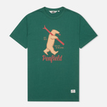 Penfield Ski Bear Men's T-shirt Green photo- 0