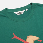 Penfield Ski Bear Men's T-shirt Green photo- 1