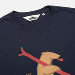 Penfield Ski Bear Men's T-shirt Navy photo- 1