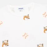 Мужская футболка Reebok x Maison Kitsune AOP Tee White фото- 1