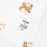 Мужская футболка Reebok x Maison Kitsune AOP Tee White фото- 3