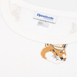 Мужская футболка Reebok x Maison Kitsune AOP Tee White фото- 4