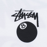Stussy 8 Ball Men's T-shirt White photo- 2