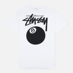 Stussy 8 Ball Men's T-shirt White photo- 3