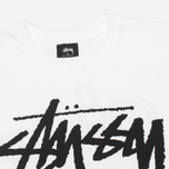 Stussy World Tour Men's T-shirt White photo- 2