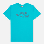 Мужская футболка The North Face Icecave Enamel Blue фото- 0