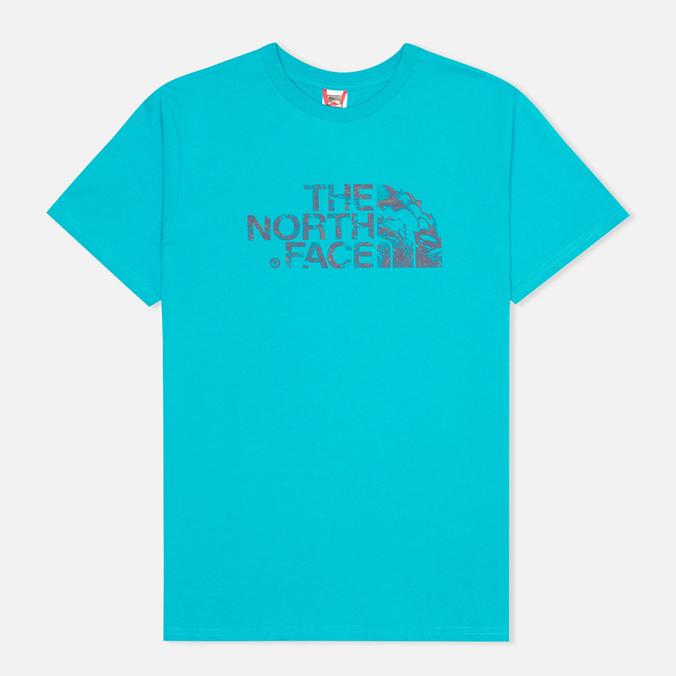 Мужская футболка The North Face Icecave Enamel Blue
