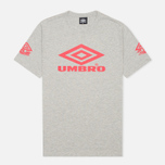 Umbro Pro Training Classic Coach Crew Men's T-shirt Grey photo- 0