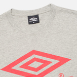 Umbro Pro Training Classic Coach Crew Men's T-shirt Grey photo- 1
