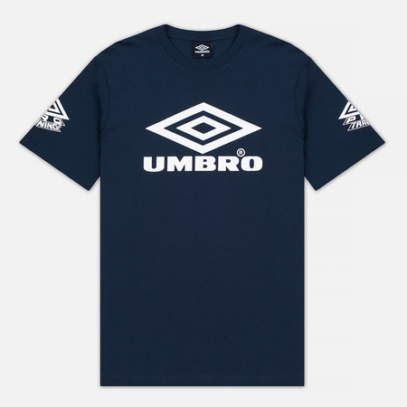 Umbro Pro Training Classic Coach Crew Men's T-shirt Navy