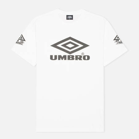 Umbro Pro Training Classic Coach Crew Men's T-shirt White