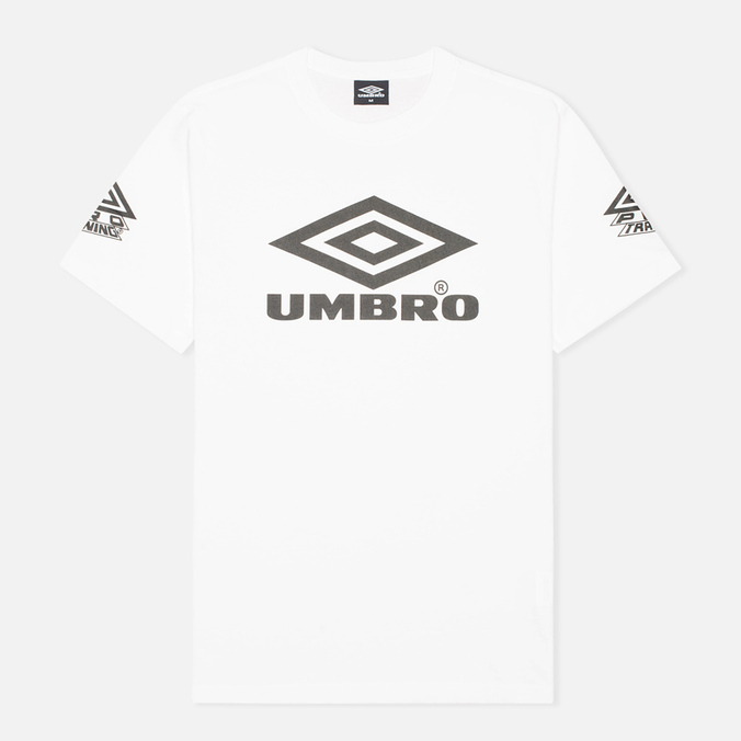 Мужская футболка Umbro Pro Training Classic Coach Crew White
