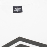 Мужская футболка Umbro Pro Training Classic Coach Crew White фото- 2