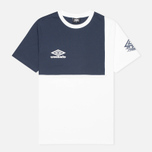 Мужская футболка Umbro Pro Training Europa Classic Navy/White фото- 0