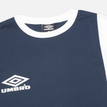 Мужская футболка Umbro Pro Training Europa Classic Navy/White фото- 1