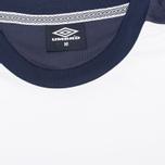 Мужская футболка Umbro Pro Training Inner City White фото- 2