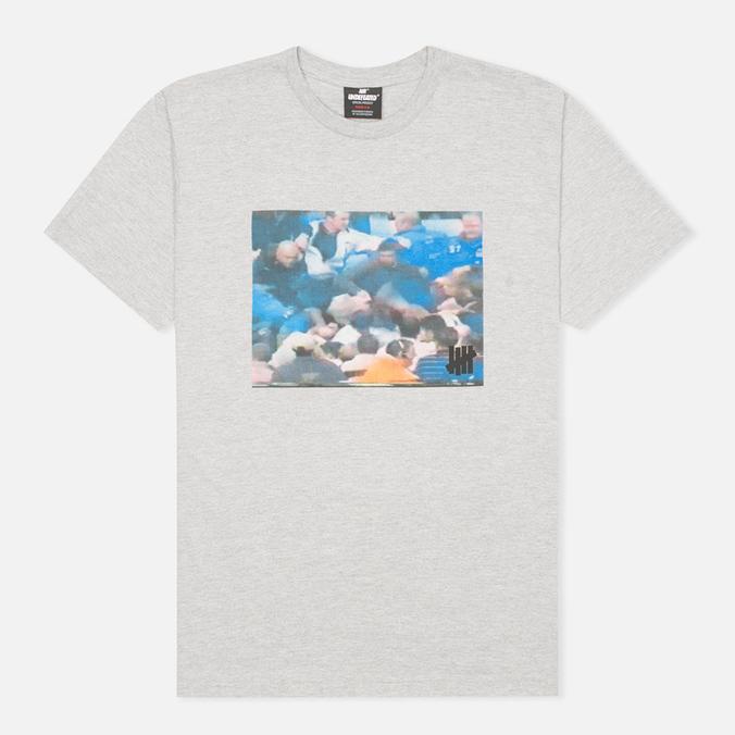 Undefeated Fuckin Brawl Men's T-shirt Heather Grey