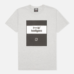 Undefeated Fuckin Hooligans Men's T-shirt Heather Grey photo- 0