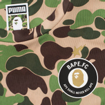 Футболка Puma x Bape AOP Camo Green фото- 2