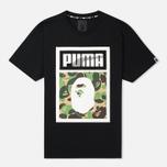 Puma x Bape Logo T-shirt Black photo- 0