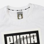 Футболка Puma x Bape Logo White фото- 1