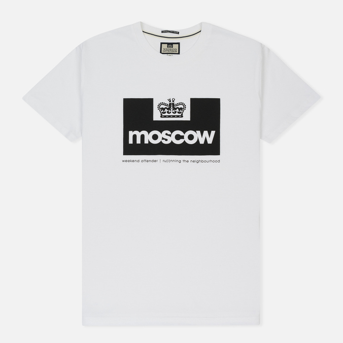Мужская футболка Weekend Offender City Collection Moscow White