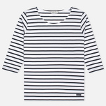 Женская футболка Armor-Lux Cap Coz Breton Blanc/Rich Navy фото- 0