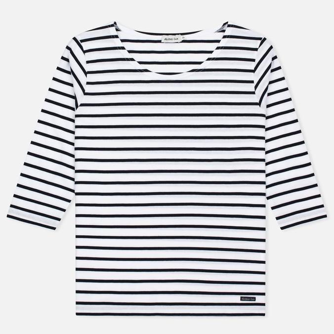 Женская футболка Armor-Lux Cap Coz Breton Blanc/Rich Navy
