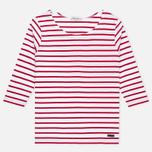 Женская футболка Armor-Lux Cap Coz Breton Rich Blanc/Braise фото- 0
