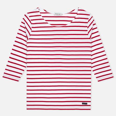 Женская футболка Armor-Lux Cap Coz Breton Rich Blanc/Braise