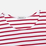 Женская футболка Armor-Lux Cap Coz Breton Rich Blanc/Braise фото- 1