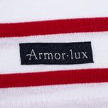 Женская футболка Armor-Lux Cap Coz Breton Rich Blanc/Braise фото- 3
