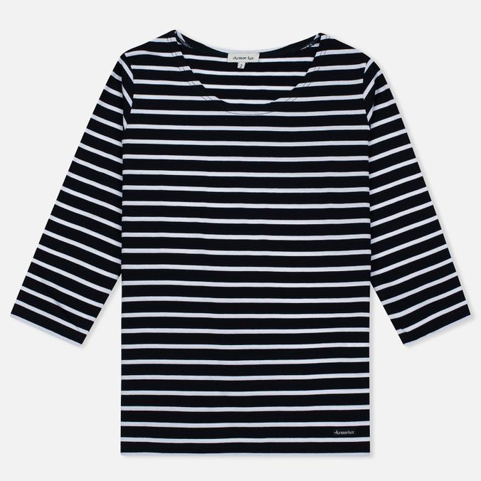Женская футболка Armor-Lux Cap Coz Breton Rich Navy/Blanc