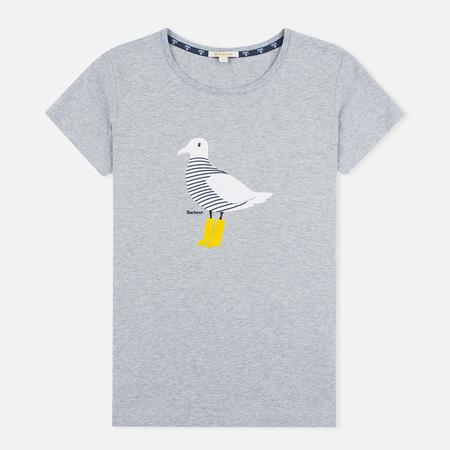 Женская футболка Barbour Avonmouth Light Grey Marl
