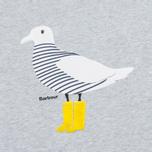 Barbour Avonmouth Women's t-shirt Light Grey Marl photo- 2