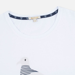 Женская футболка Barbour Avonmouth White фото- 1