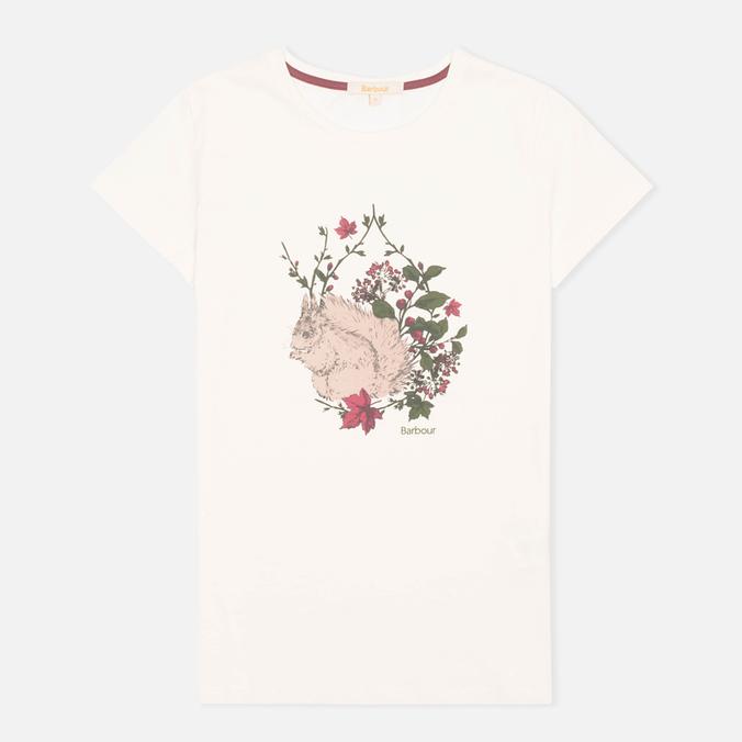 Женская футболка Barbour Fell Snow