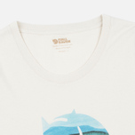 Женская футболка Fjallraven Watercolour Fox Chalk White фото- 2